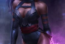 PsYLocke / Psylocke is a fictional superheroine appearing in Marvel Comics, commonly in association with the X-Men.Firstly Elizabeth Braddock (real identity) appeared to side of Captain Britain.
