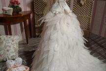 miniature evening dresses