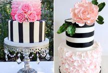 bolos e festa