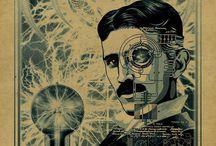 Nikola Tesla Carton