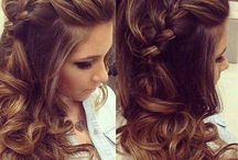 partial updos for long hair