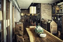 Reclaimed Wood in Restaurants