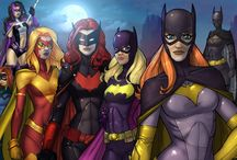 """Superhero Women / Posters and Titles carried in the Superhero Women Section at """"The Closet"""" cosplay and comic shop"""