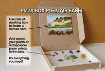 Art Supplies Inspiration!