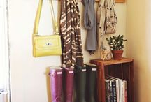 apartment entryway / by Abby Schmitt