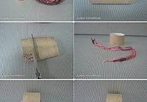 Čepice - namotávaná s bavlnkou