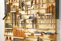 Huset verktygsbod