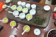 Tea Tasting / Comparing 3 different types of high mountain oolong tea from Taiwan.