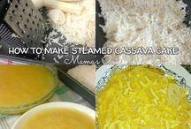 Steamed Cassava Cake