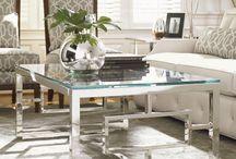 Coffee table chrome