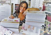 Colección de papeles para Scrapbook