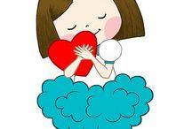 иллюстрации Любовь и Дружба