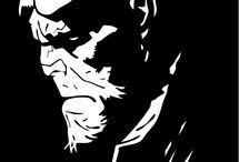 figuras blanco y negro