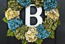 wreath ideas / by Jessica Greenly