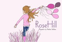 Rose Hill Designs / Illustrazioni di Heather Stillufsen