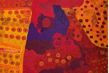 Australian Contemporary Indigenous / Aboriginal art, painting