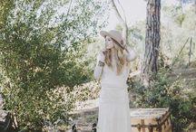 IMMACLE NOVIAS BOHOCHIC BARCELONA / Nueva colección de vestidos de novia Immaclé Barcelona inspirados en el mas puro estilo Bohochic