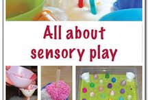 Sensory play / Sensory play ideas