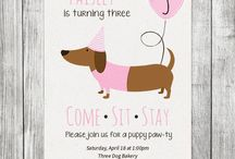 Puppy Party Theme
