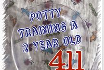 Potty Training / It's not a fun time but it has to be done! Keep your eye on the prize and follow the advice in the pins below!