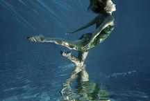 Under water:*