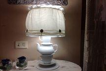 Lampada con le Tazzine / Lampada