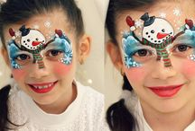 Face Painting Christmas