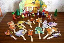 Кукольный театр / Игрушки, картинки, сказки, обои