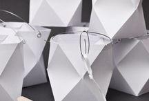 Papierarbeit/Laternen