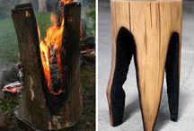 gebrand hout