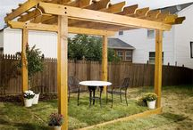 Backyard Enhancement Project / We're working on designing a fun space for the kids and to entertain in our backyard.