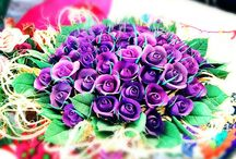 Kaniye nin  atölyesi / El yapımı çiçekleri