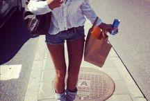 Stylish but simple / street style, comfy, stylish