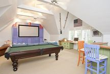 Eclectic Game Room Design