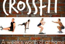 Boot Camp / tabata /Crossfit / by Lesa Bowerman