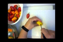 My Videos - Fruit & Vegetable Carving / See more fruit carving and vegetable carving videos at >>> http://www.youtube.com/ChefLinny