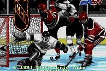 Hockey Video Games / by Mr. Retro Sports