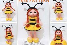 örgüden arı kız