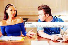Glee text posts