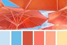 Kedvenc színpalettáim / színek és még színek (color palette, colors)