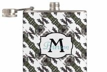 Flask fashion / From art works to pattern that is monogram or personalizable