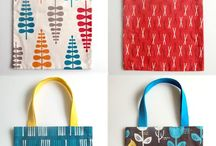 Bags, totes, purses - fabric / by Pikaka