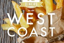 Where to eat on the West Coast / Where to eat on the West Coast
