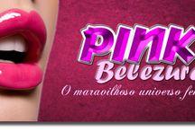 Pink Belezura / PinkBelezura aborda tudo sobre universo feminino.Apresentando produtos e dicas para as leitoras,o blog também conta com parcerias interessantes seja de empresa ou outros blogs sempre acontece sorteio de kits de beleza e maquiagem, além da avaliação de produtos.Portanto se você procura informação sobre o universo feminino você está no blog certo.