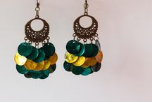 Šperky: náušnice / Šperky, které si můžete sami vyrobit.