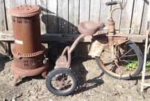 Old and Rusty / by *Connie* Ross