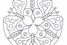 Kleuren: mandala's
