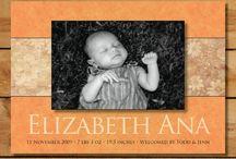 Autumn Birth Announcements