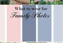 Family picture color combos