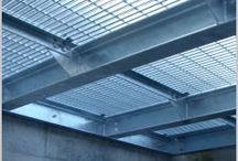 Perforated metal decking